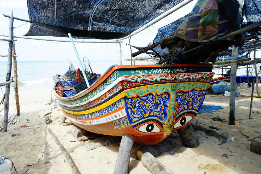 Ban Ton village is famous for its traditional korlae traditional boats.