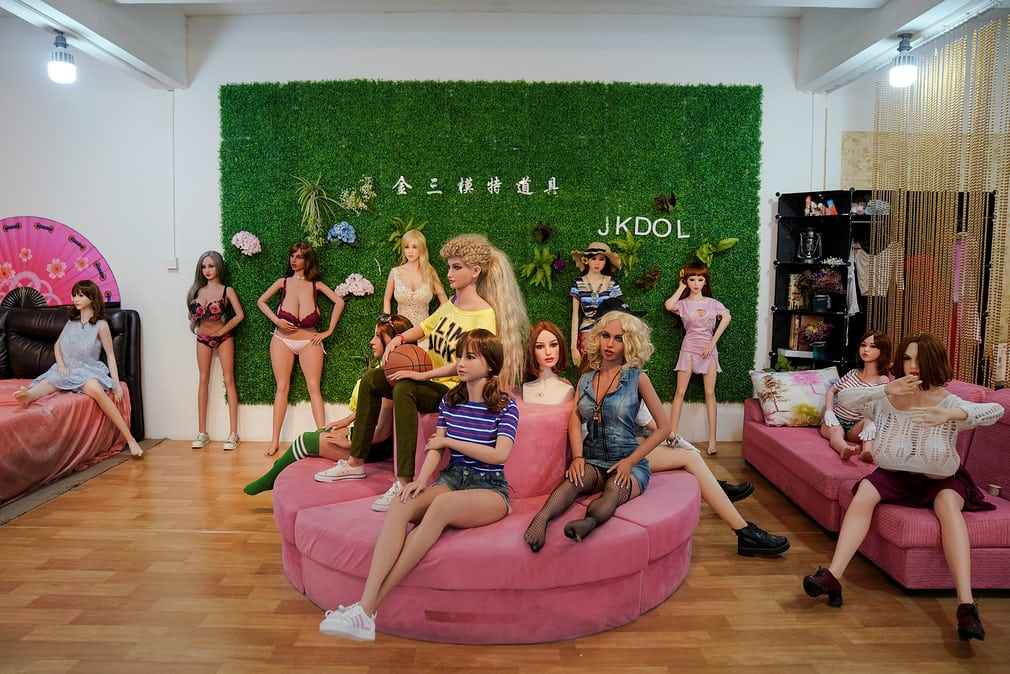 Some of the various designs of sex dolls available to bu
