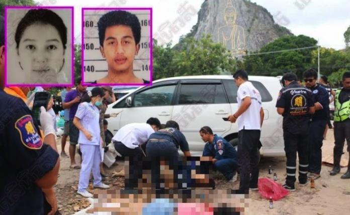 Couple murdered execution style in broad daylight in front of dozens of tourists at Buddha Mountain