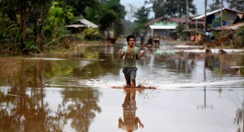 Floods from Laos dam collapse force evacuations in Cambodia