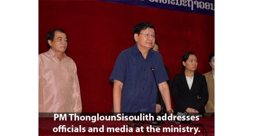 Laos to work with Korea, Thailand on dam investigation: Lao PM