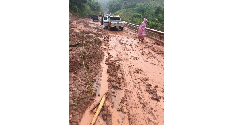 Nan province village mudslide evacuated landslide-hit village evacuated pattayatoday news