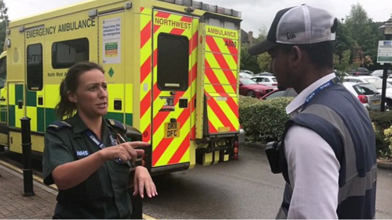 Uk news Viral Parking Firm Suspended After Slapping Paramedics With Fine While They Stopped To Take Break