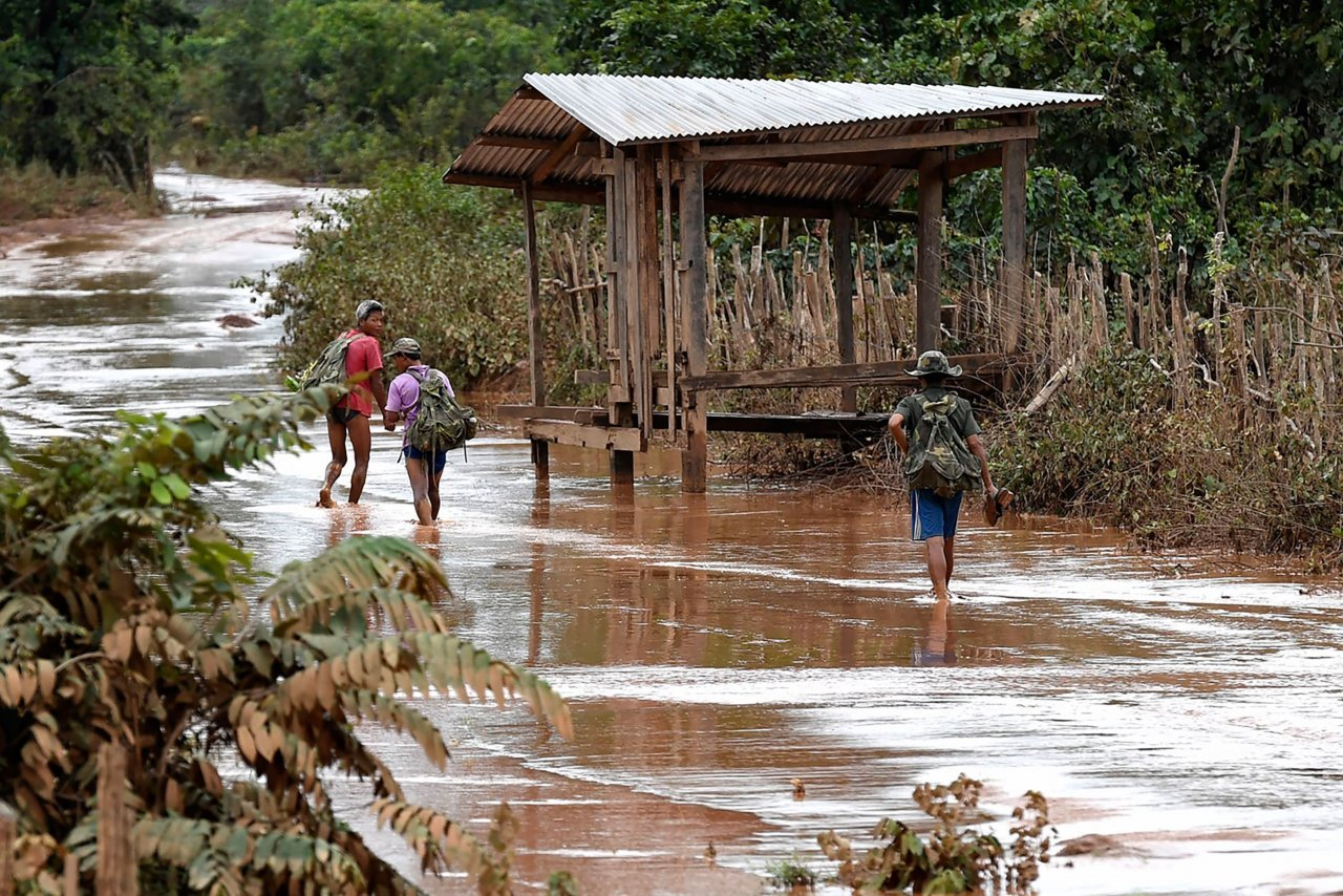 Laos dam rescue Thick mud pattaya today news
