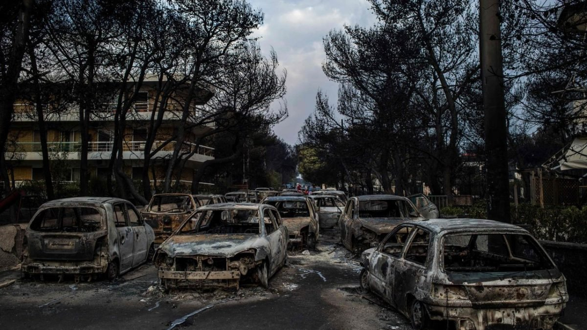 Death toll hits 50 from Greek wildfires