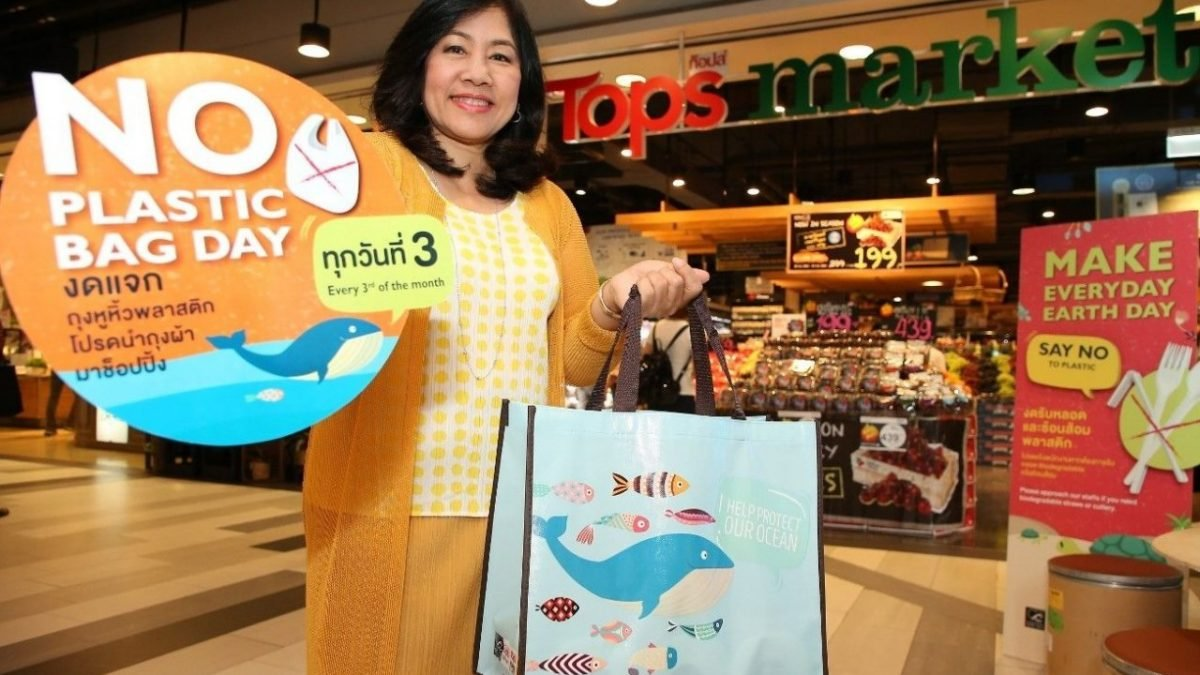 Tops plans monthly bag-free day