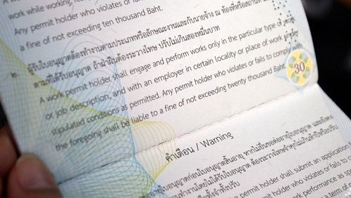 Thailand Changes Work Permits: With a work permit, one can now work in a permitted job anywhere, at any time!