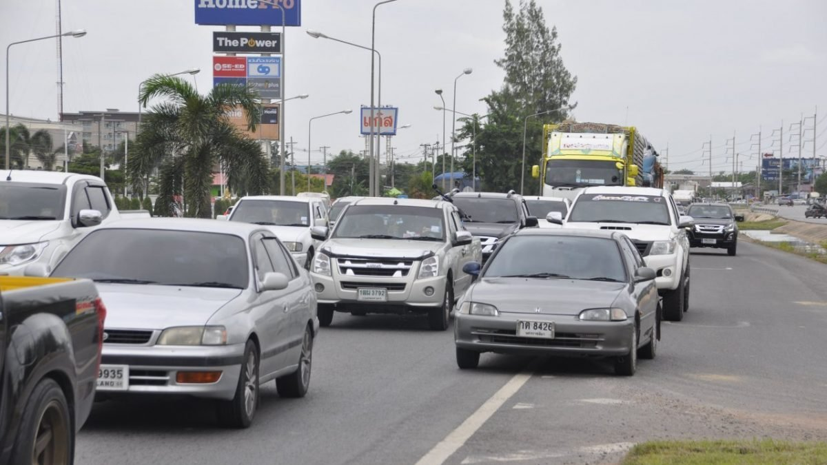 Long Weekend Causes Isaan Congestion