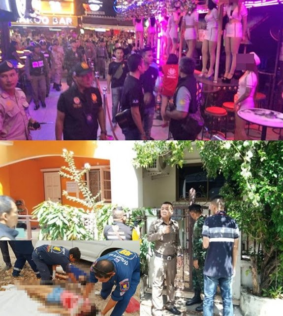 Entertainment venues in Patong, connected to the double Pattaya murder, found illegal