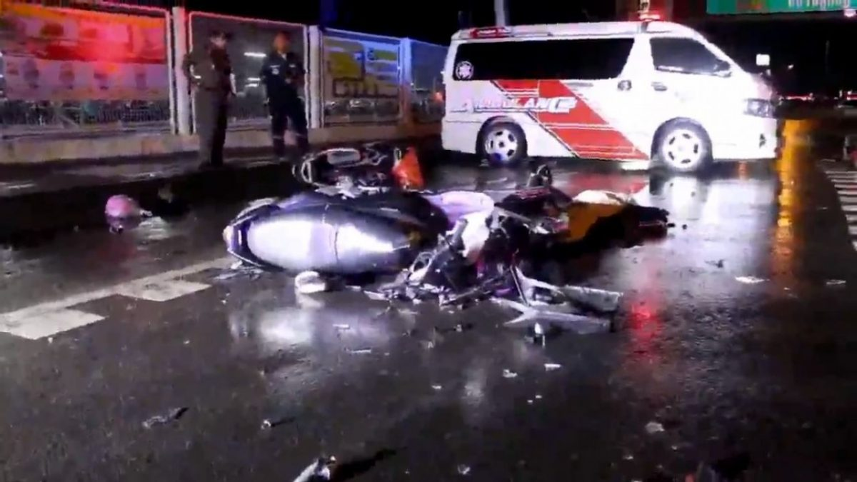Army trooper killed in Pathum Thani motorcycle accident