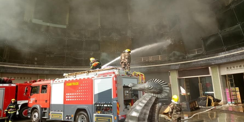 At least 18 dead in China hotel fire