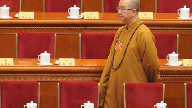 China investigates top Buddhist leader for sexual assault
