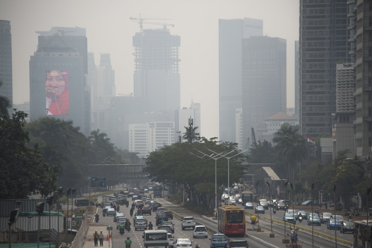 Choking hazard: air pollution hangs over Asian Games