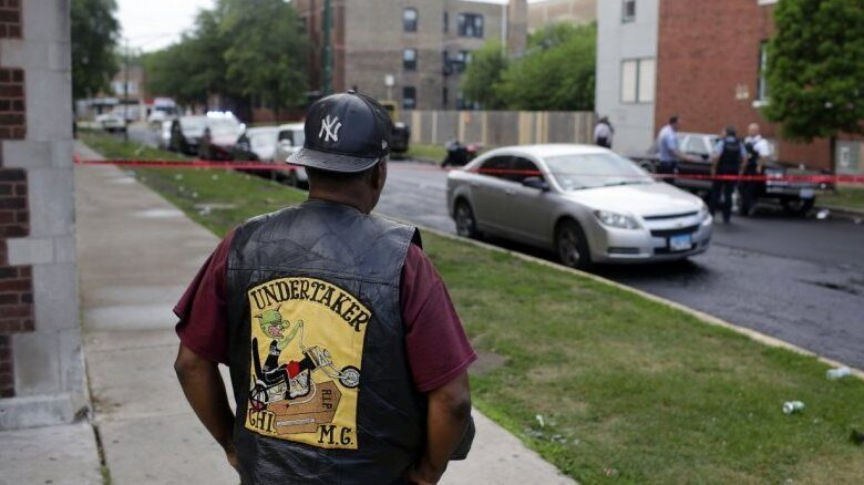chicago shooting police chief Five killed Chicago violent night violent night