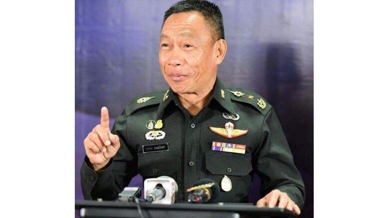 General dismisses claims of political wooing