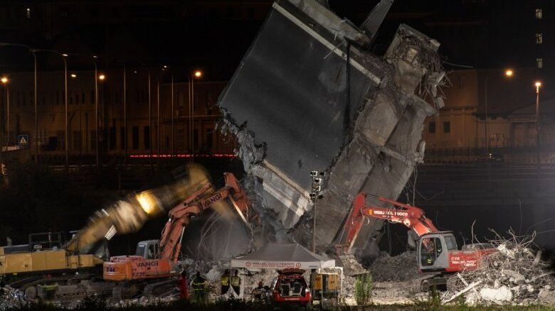 Genoa toll hits 43 as search for answers ramps up