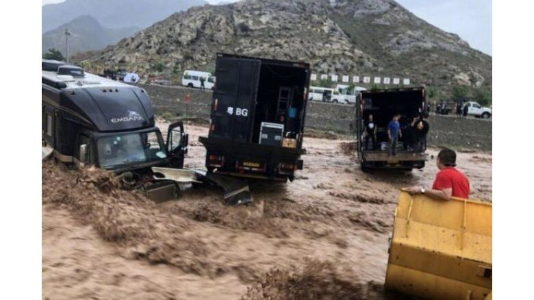 Jackie Chan rescued mudslide Project X