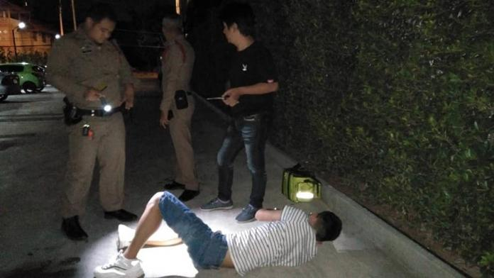 Korean tourist falls from second floor hotel balcony, injured