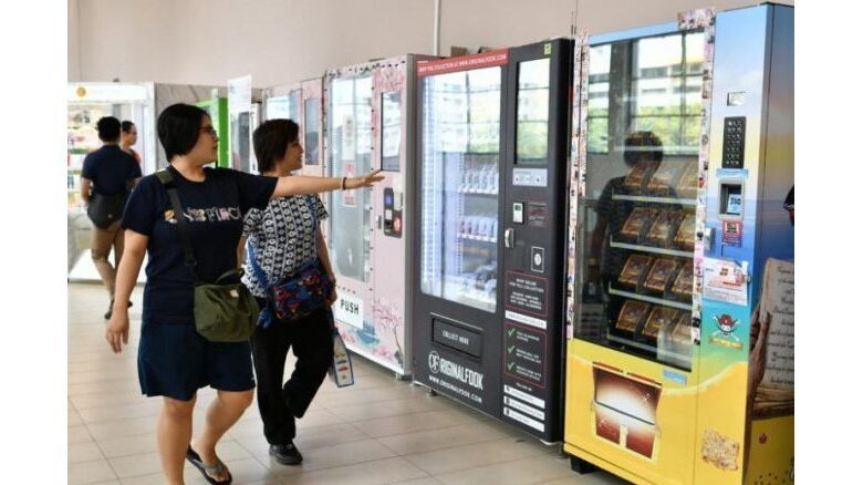 Mystery prize vending machines' a form of public lottery police