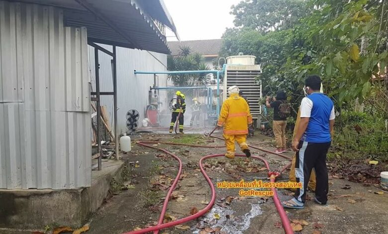 Owner dies after ammonia leak at Phang Nga ice factory