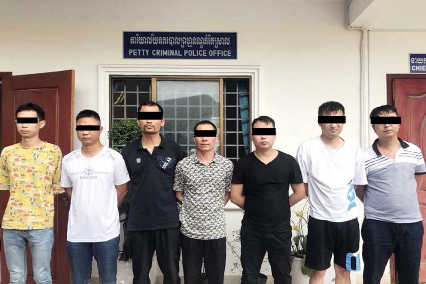 Preah Sihanouk massage parlour busted for prostitution