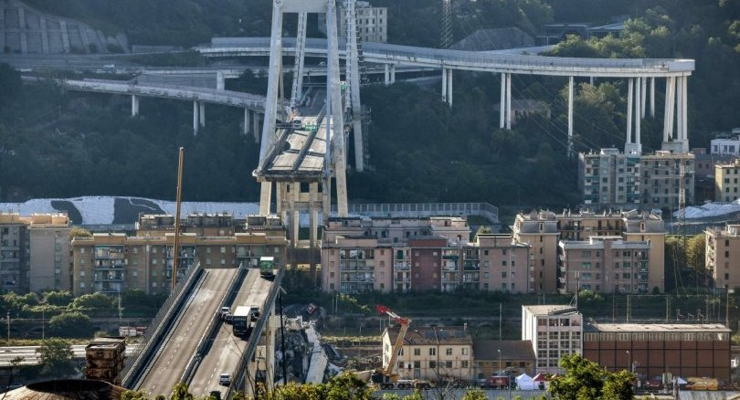 Rescuers dig for survivors as anger mounts over Italy bridge collapse