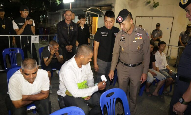 visa 61 foreigners arrested Thailand Searches net