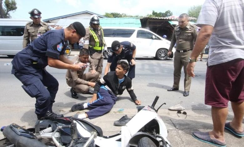Phuket Surachete victim hit and run Senior police
