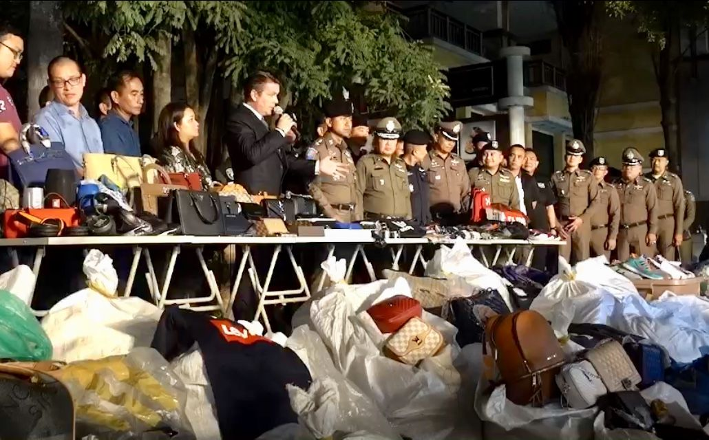 20,000 fake goods seized from Chiang Mai night markets