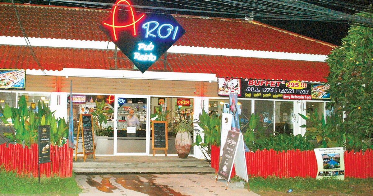 Featured Ad: Aroi Pub and Restaurant. The Spiritual Home of Australian Beef in Pattaya @ Aroi Pub Resto Aroi Pub and Restaurant is Located in Toongklom