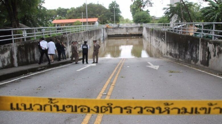 Bangkok woman drowns in flooded tunnel