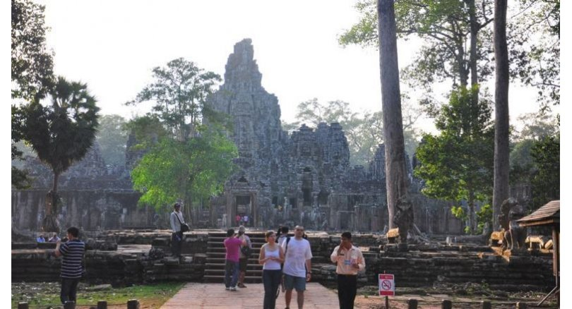 Bayon restoration to resume. The Japanese and Cambodian