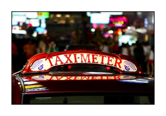 Beware the Bangkok taxi turbo meter