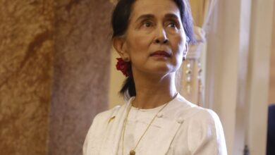 Canada strips Aung San Suu Kyi of honorary citizenship. Canada's parliament voted unanimously on Thursday to effectively strip Myanmar leader Aung