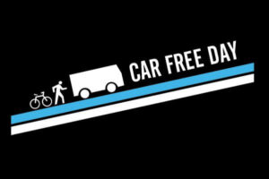 Car Free Day Bike Ride: Big supporters hit the streets for Car Free