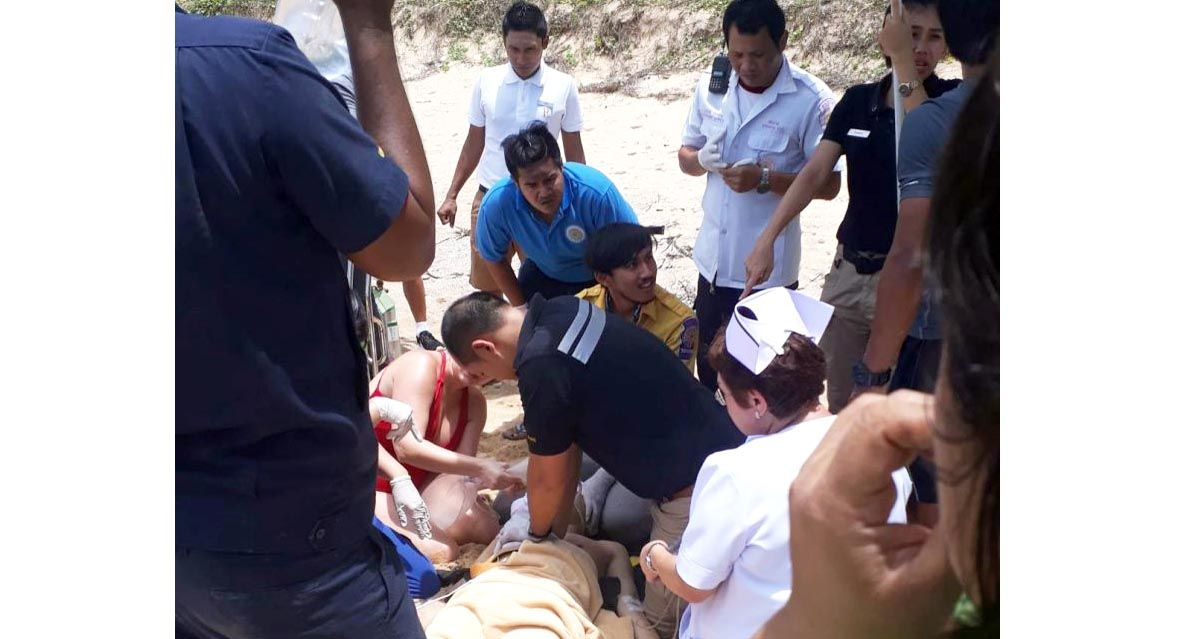 Chinese tourist in coma after sea rescue