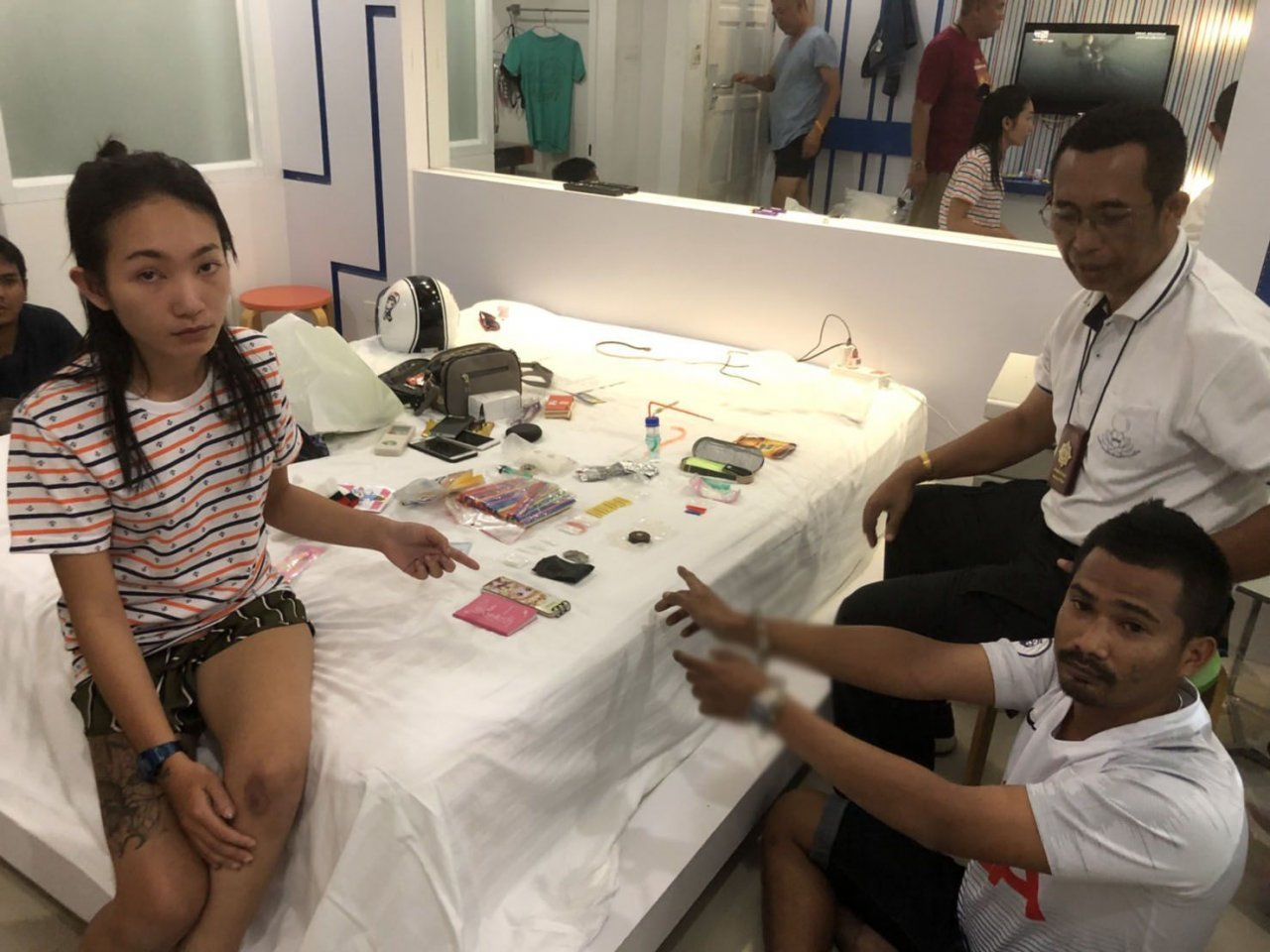 Couple arrested in Hat Yai resort for allegedly selling drugs. A couple was arrested at a resort in Hat Yai district of Songkhla Monday morning