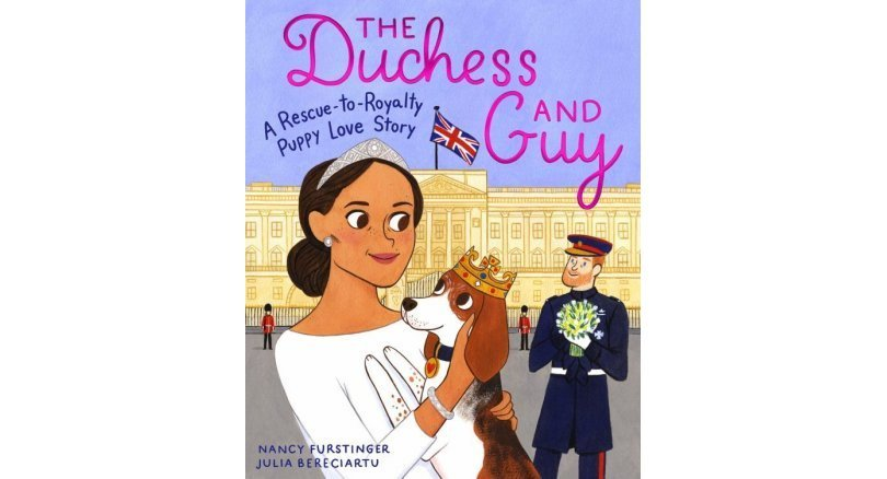 Duchess of Sussex dog stars in children's books telling his life from rescue to royal