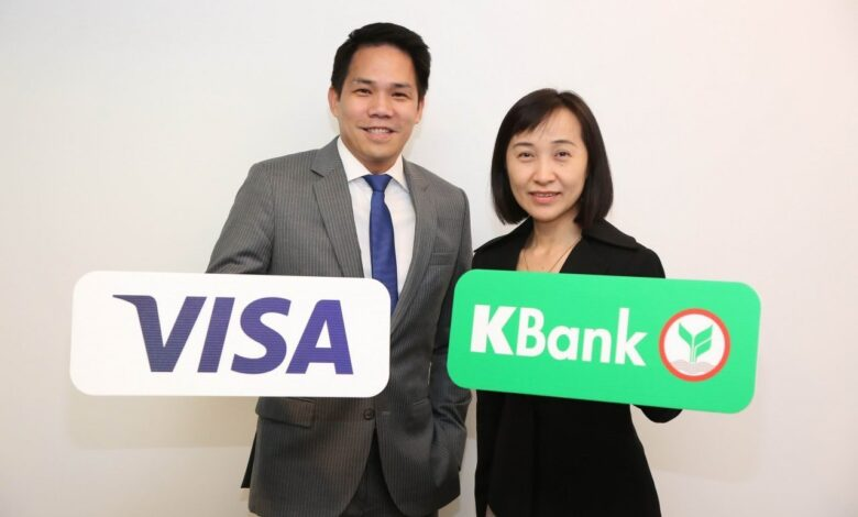 KBank-Visa to pilot blockchain-based B2B payments. Kasikornbank on Thursday became the first Thai financial institution to join the Visa B2B