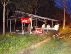 Man found hanged beside Phuket's busiest road. PHUKET: Police are hoping to identify the body of a man found hanged in a sala beside a