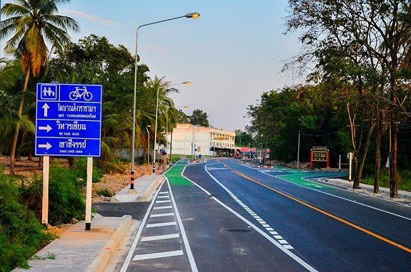New 13km Bicycle route opens in the Pattaya area