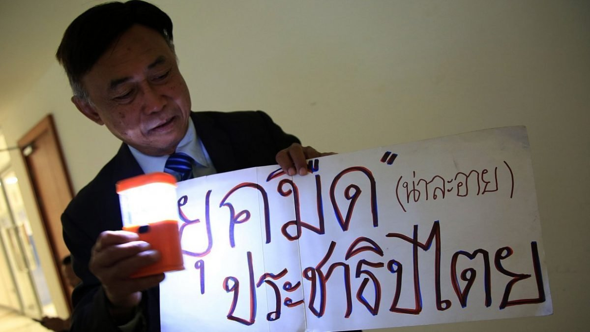 New Thai political party charged under draconian old law