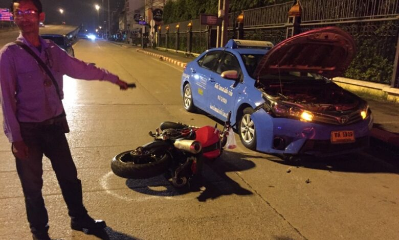 One motorcyclist killed, second injured in apparent road race. A