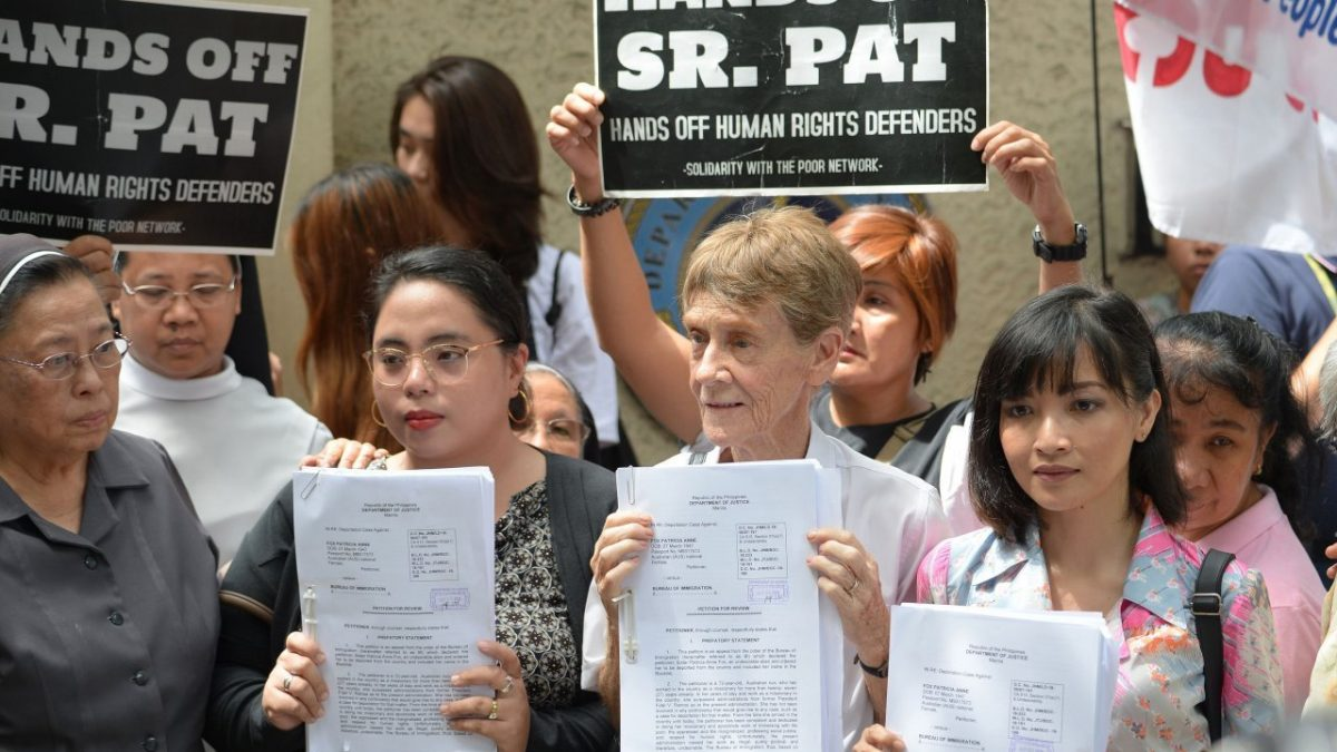Philippines' immigration bureau denies Sister Fox's visa extension