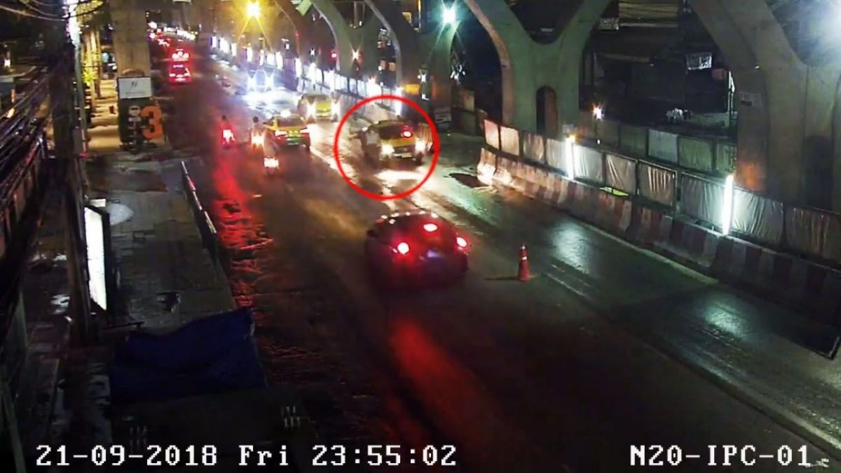 Police seek public's help to find Bangkok taxi driver after fatal hit-and-run