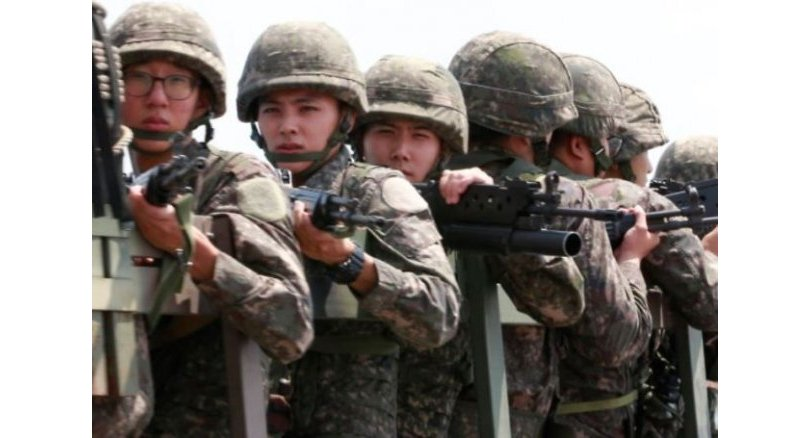 S. Korea students gain weight 'to dodge military service