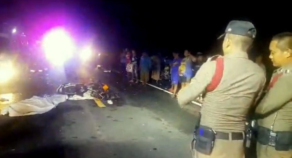 Schoolboy, Myanmar worker killed in Prachin Buri motorcycle collision