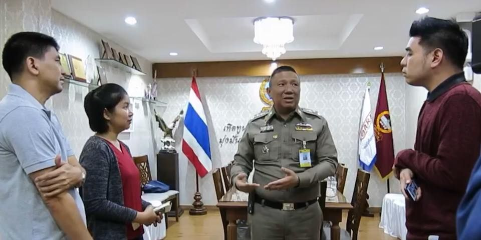 Six Bangkok cops transferred in probe of alleged extortion attempt