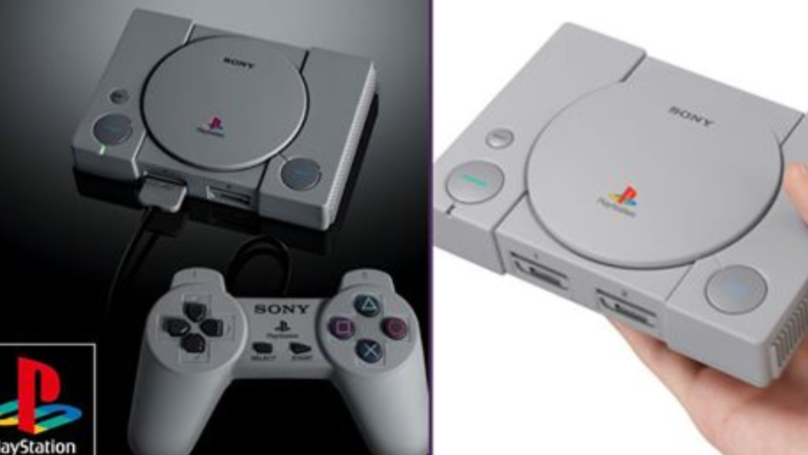 Sony Have Announced The PlayStation Classic With 20 Legendary Games Built In