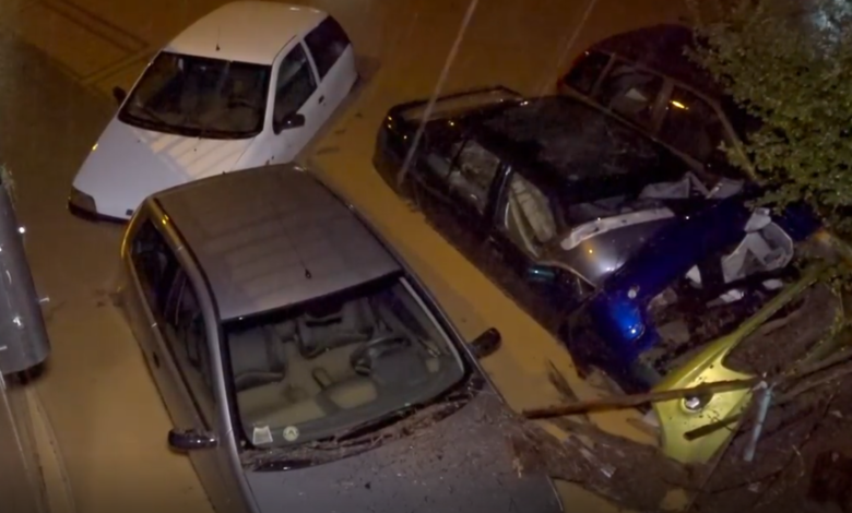 Streets submerged, cars swept away as flash flooding strikes northern Italy